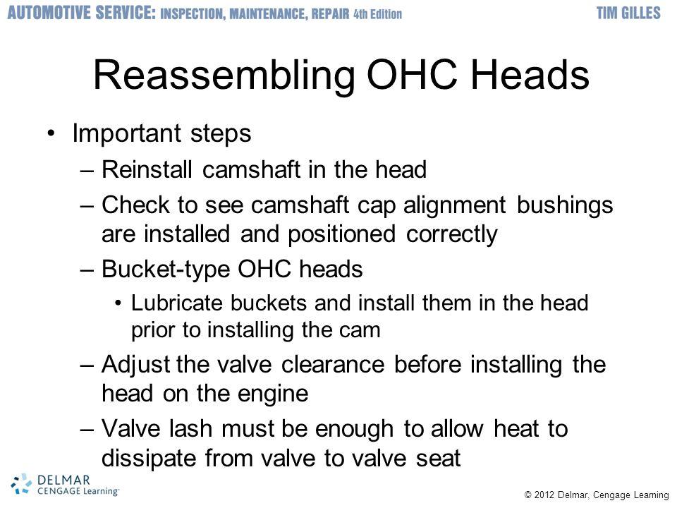 Reassembling OHC Heads