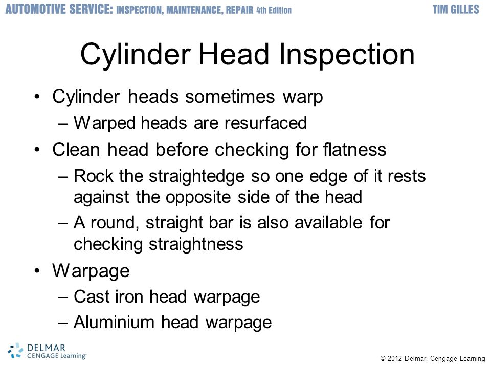 Cylinder Head Inspection