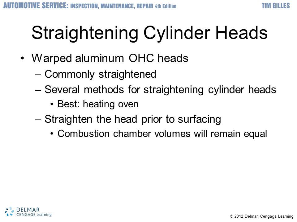 Straightening Cylinder Heads