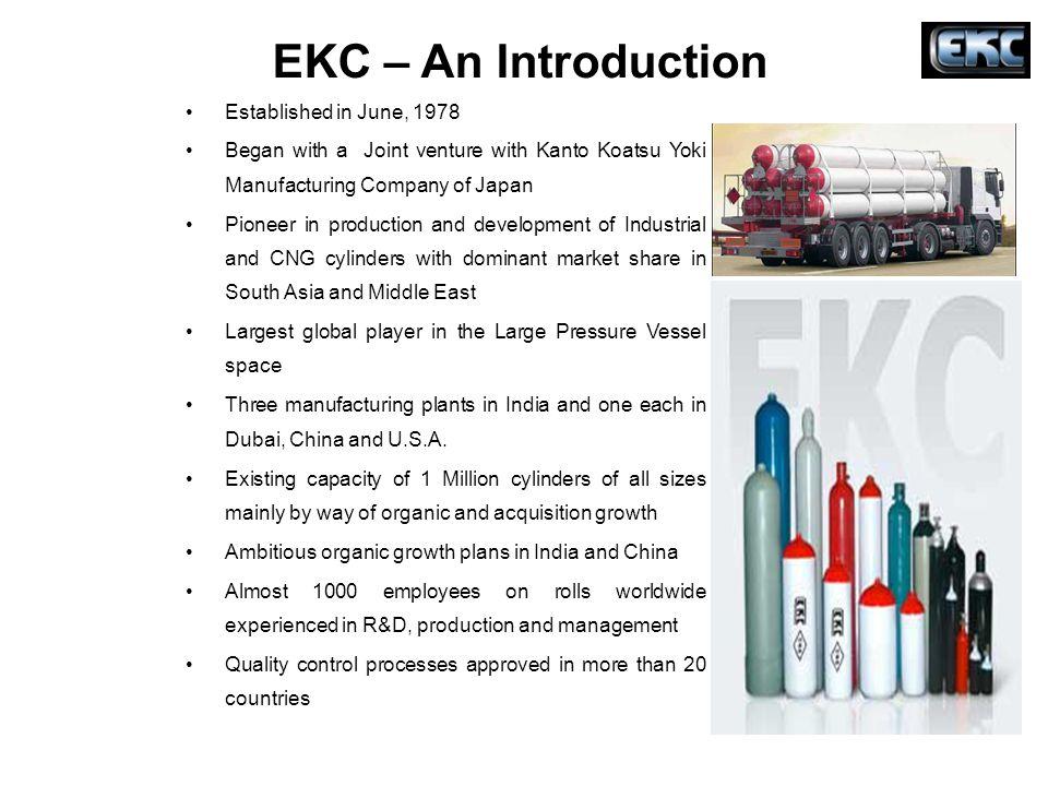 EKC – An Introduction Established in June, 1978