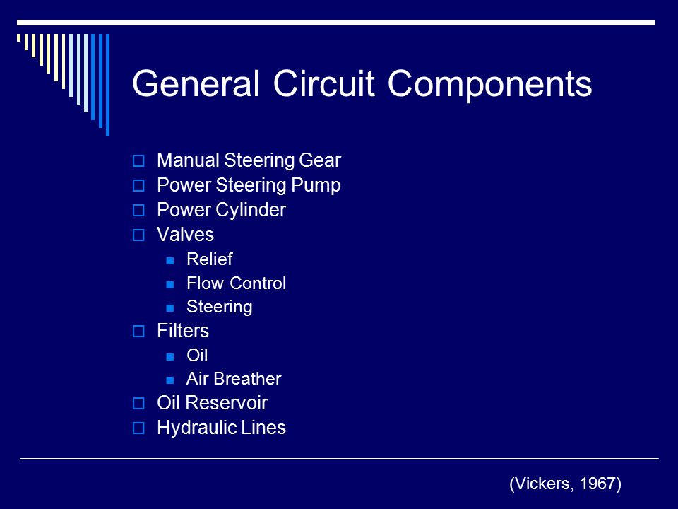 General Circuit Components