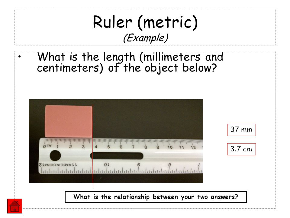 Ruler (metric) (Example)