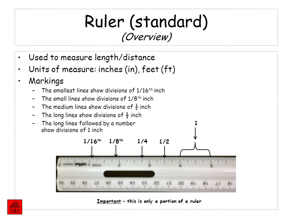 Ruler (standard) (Overview)