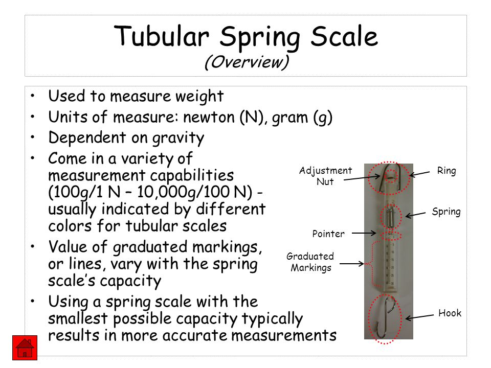 Tubular Spring Scale (Overview)