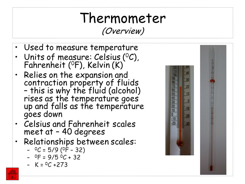Thermometer (Overview)