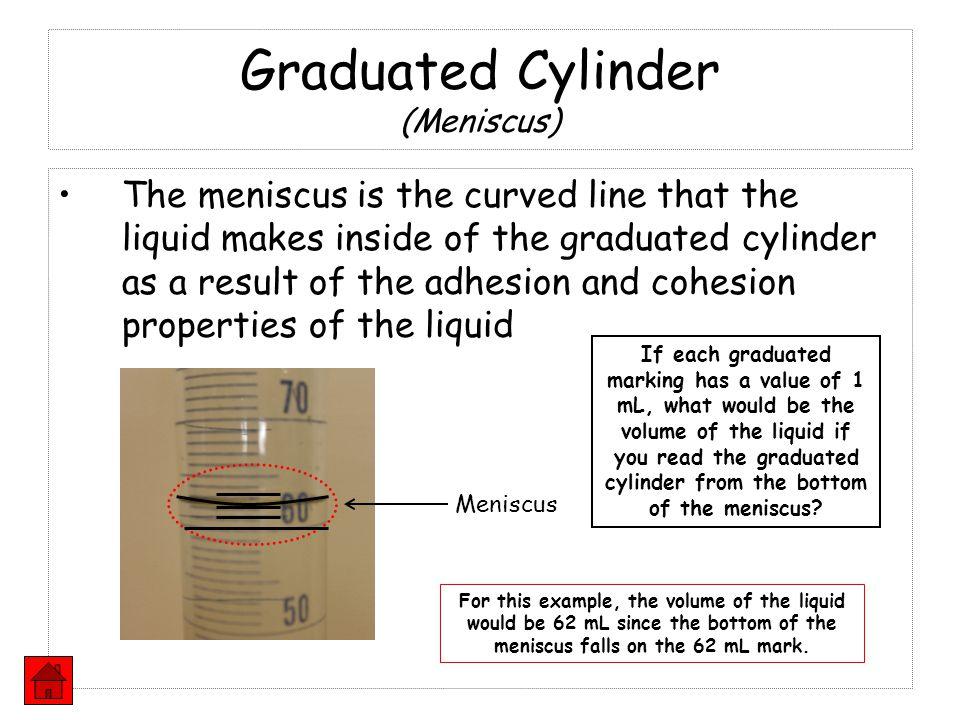Graduated Cylinder (Meniscus)