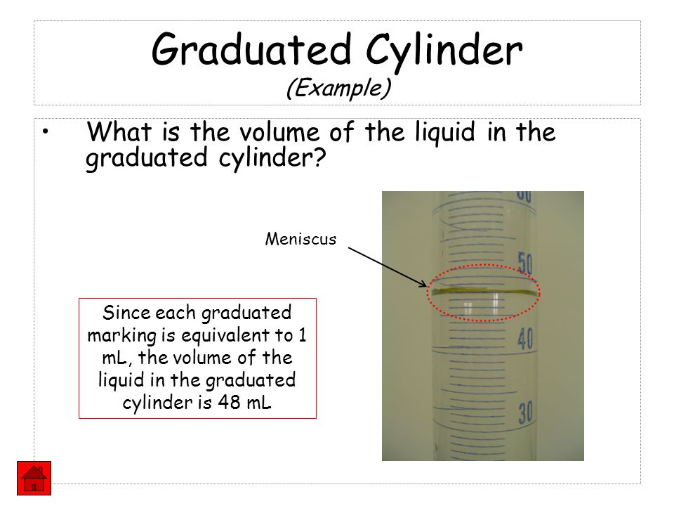 Graduated Cylinder (Example)
