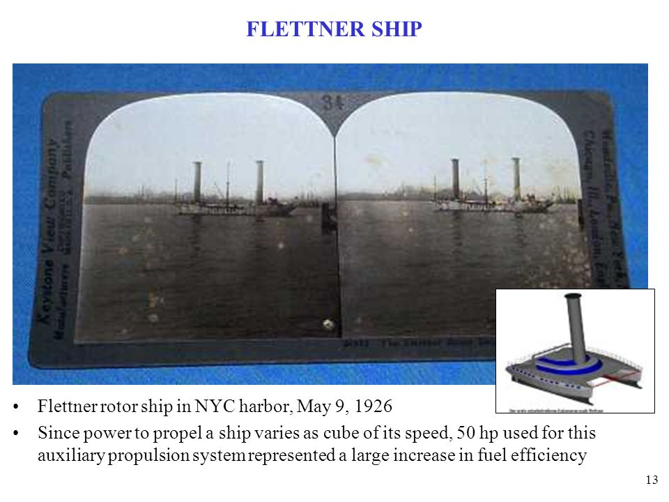 FLETTNER SHIP Flettner rotor ship in NYC harbor, May 9, 1926