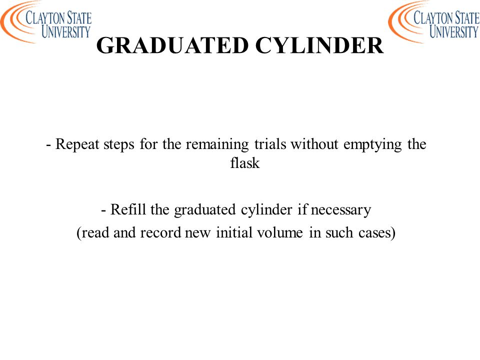 GRADUATED CYLINDER