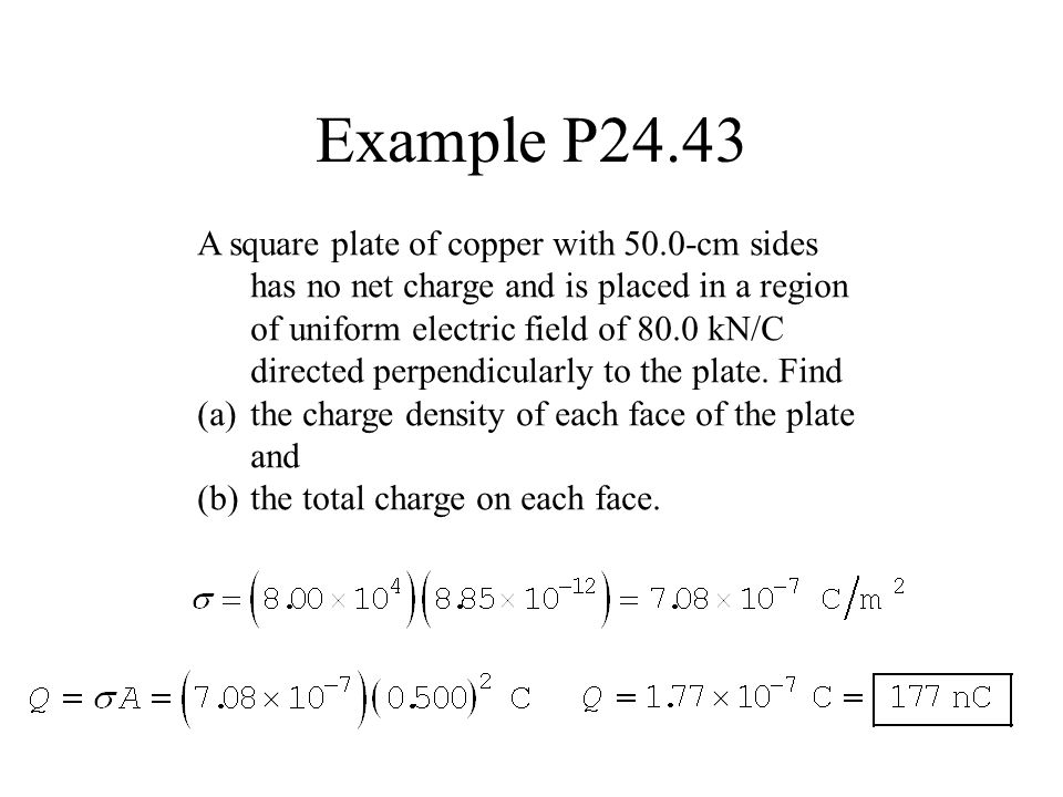 Example P24.43
