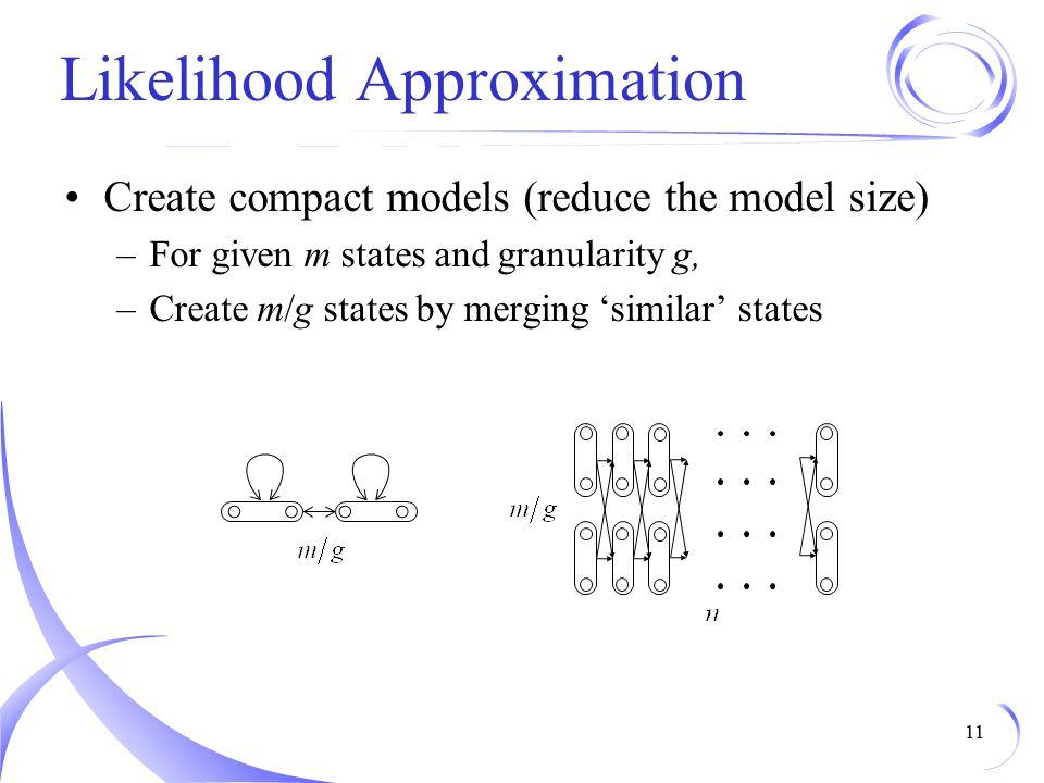 Likelihood Approximation