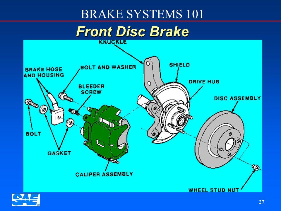 12/4/2006 Front Disc Brake.
