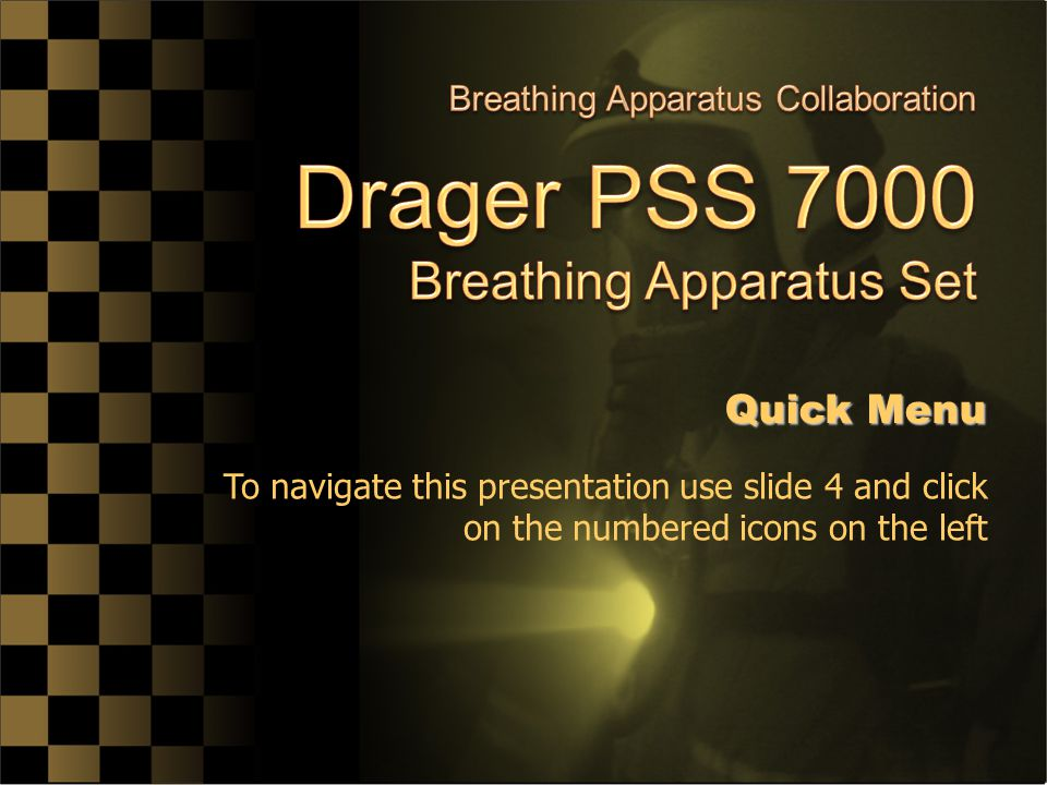 Drager PSS 7000 Breathing Apparatus Set
