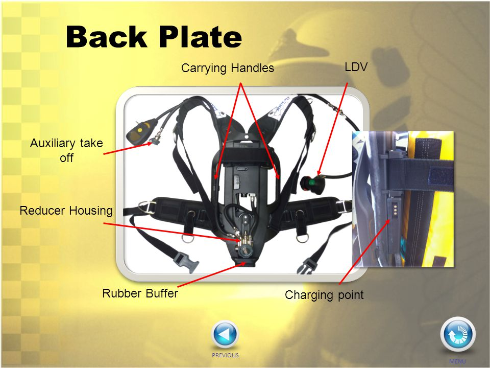 Back Plate Carrying Handles LDV Auxiliary take off Reducer Housing
