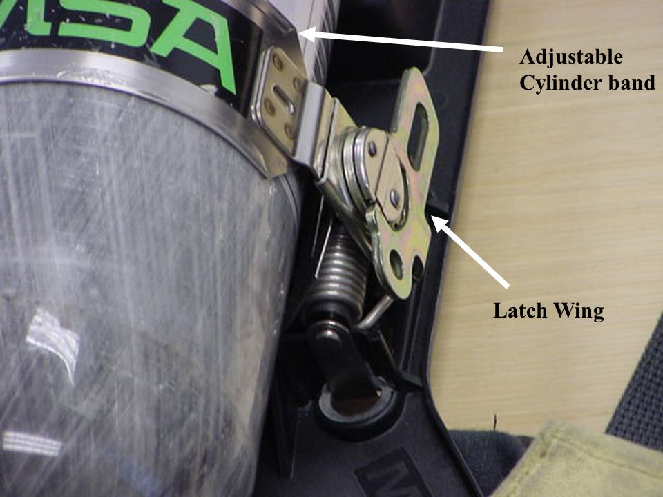 Adjustable Cylinder band Latch Wing