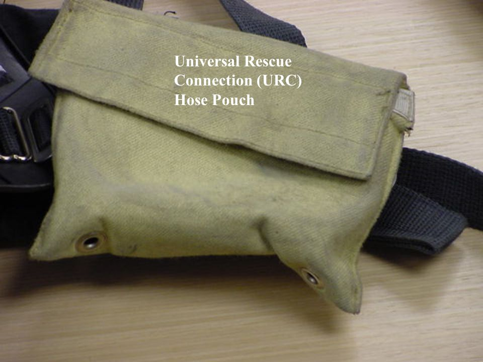 Universal Rescue Connection (URC) Hose Pouch