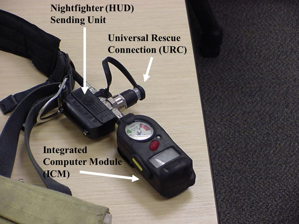 Nightfighter (HUD) Sending Unit Universal Rescue Connection (URC) Integrated Computer Module (ICM)