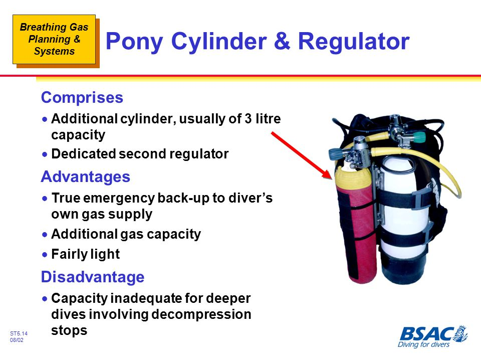 Pony Cylinder & Regulator