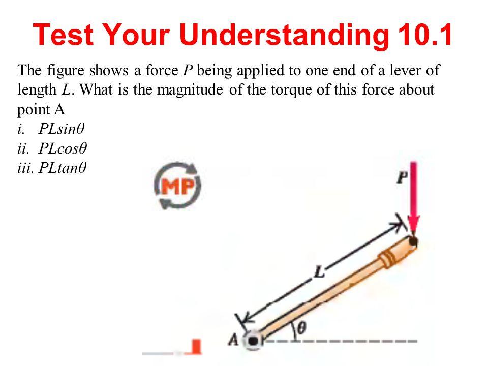 Test Your Understanding 10.1