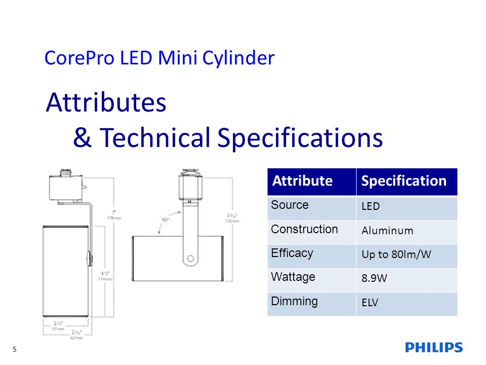 & Technical Specifications