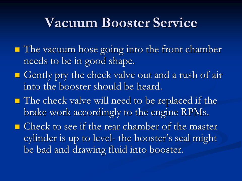 Vacuum Booster Service