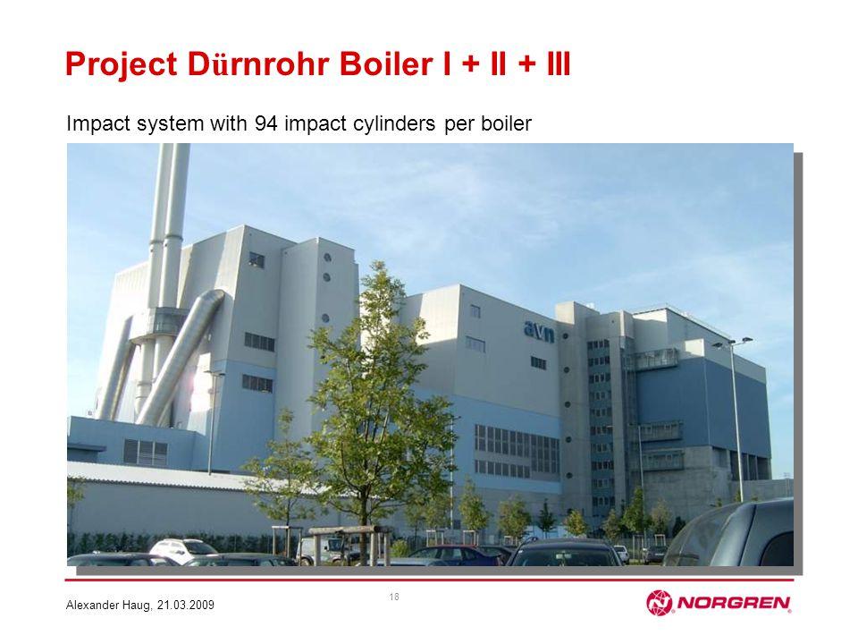 Project Dürnrohr Boiler I + II + III