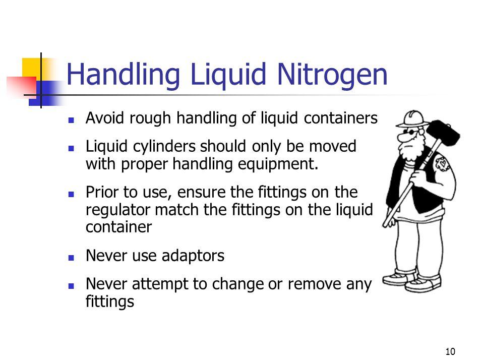 Handling Liquid Nitrogen