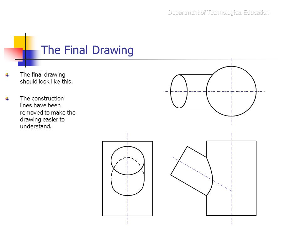 The Final Drawing Department of Technological Education