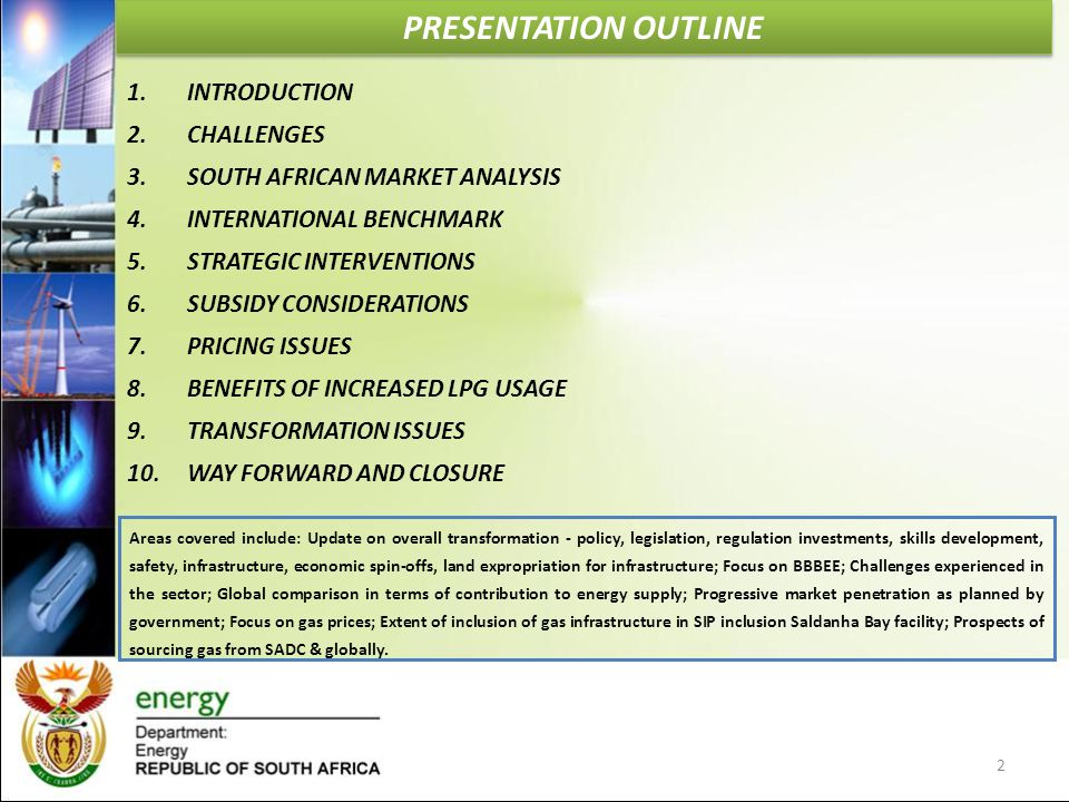 PRESENTATION OUTLINE INTRODUCTION CHALLENGES