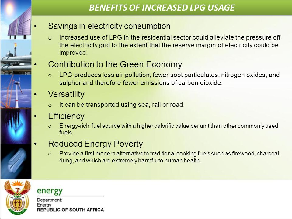 BENEFITS OF INCREASED LPG USAGE