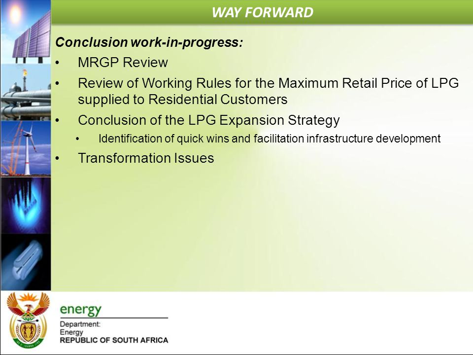 WAY FORWARD MRGP Review