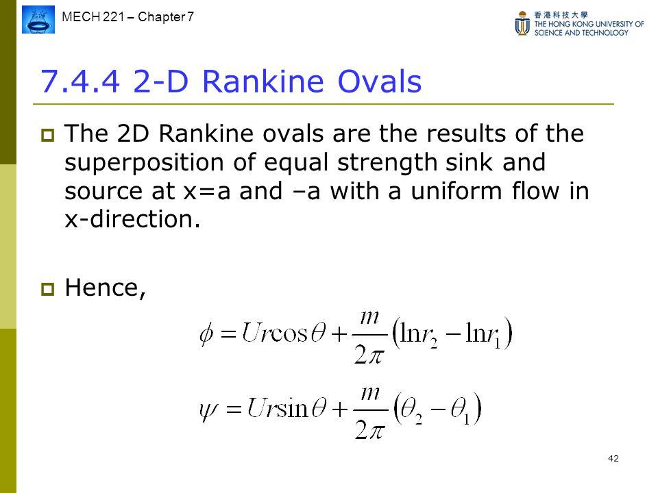 7.4.4 2-D Rankine Ovals