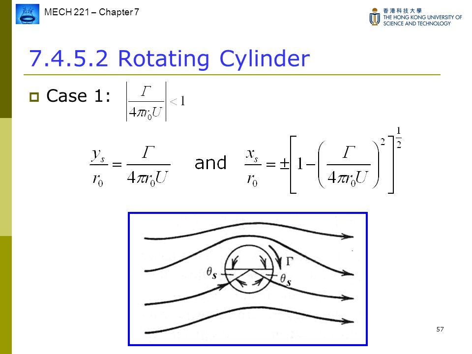 7.4.5.2 Rotating Cylinder Case 1: