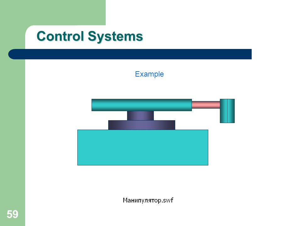 Control Systems Example