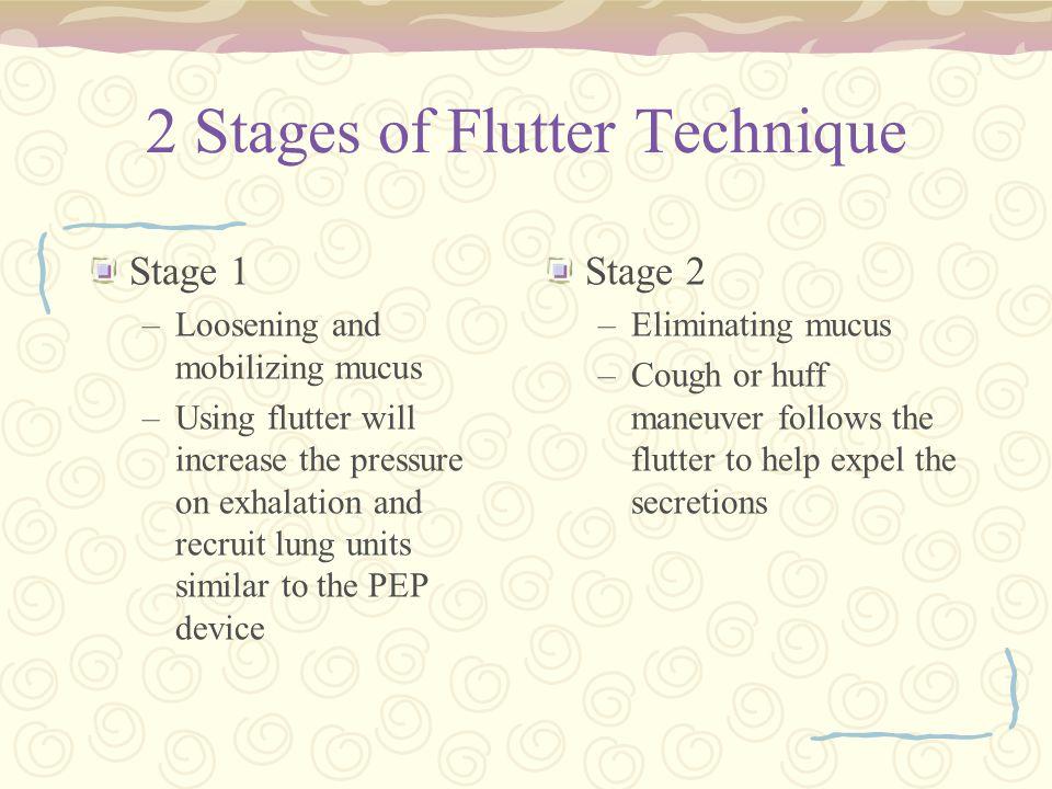 2 Stages of Flutter Technique