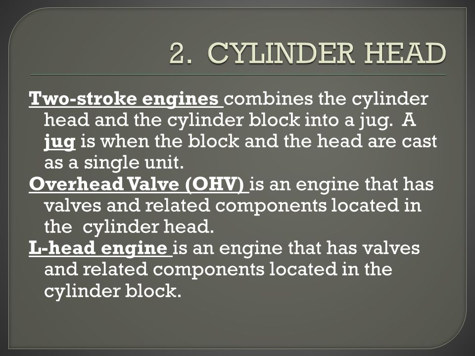 2. CYLINDER HEAD