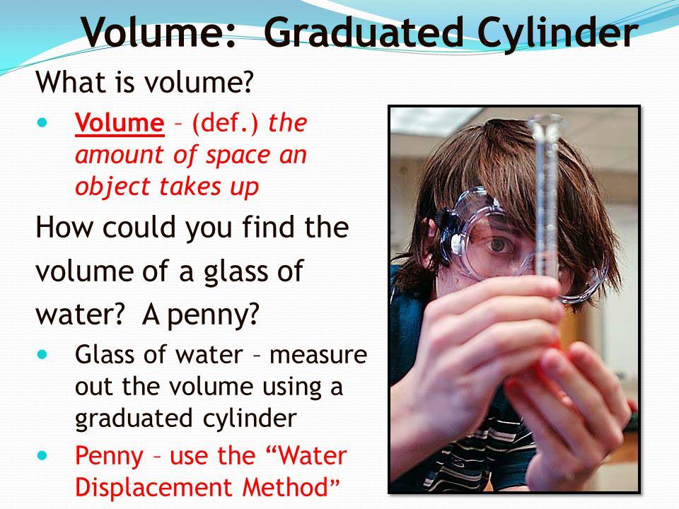 Volume: Graduated Cylinder