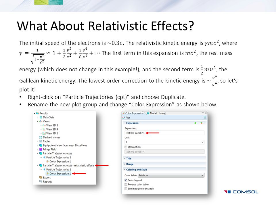 What About Relativistic Effects