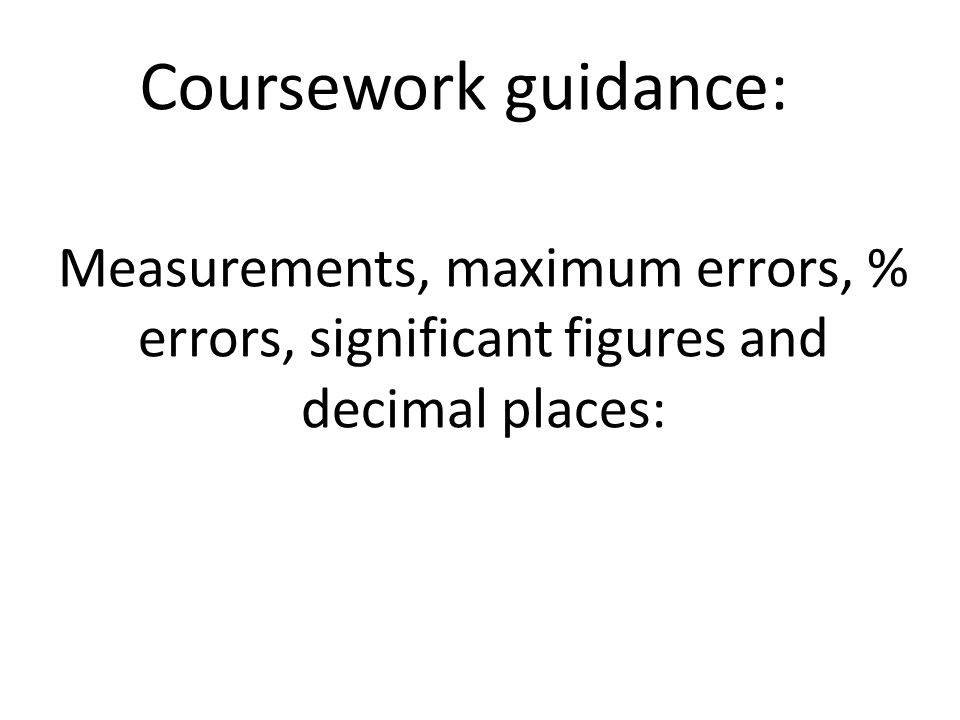 Gcse physics coursework guidance   As Physics Coursework Help     Marked by Teachers