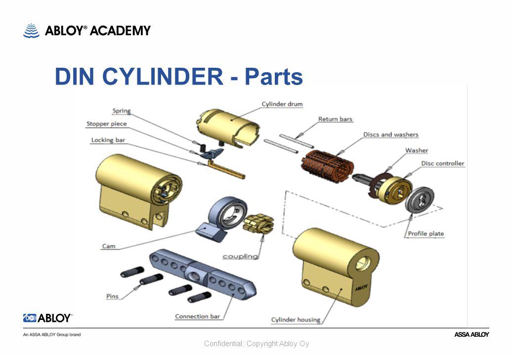 DIN CYLINDER - Parts