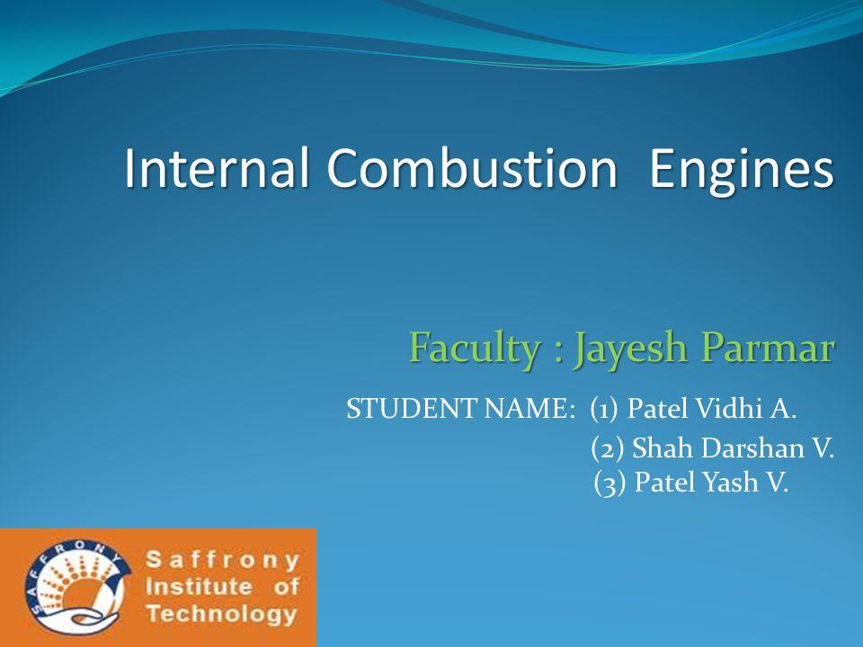 STUDENT NAME: (1) Patel Vidhi A.
