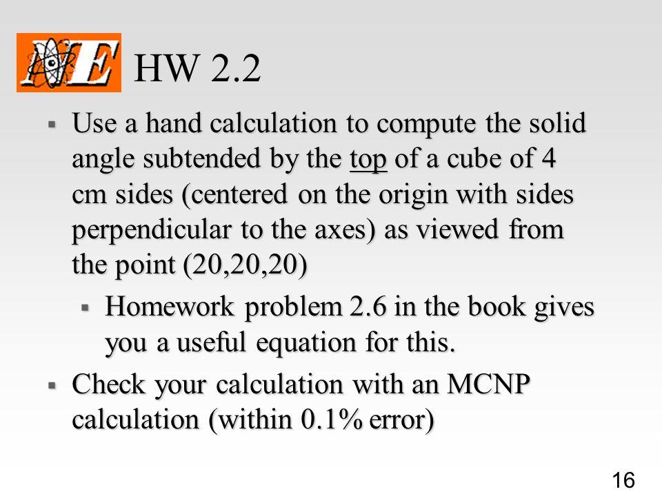 HW 2.2