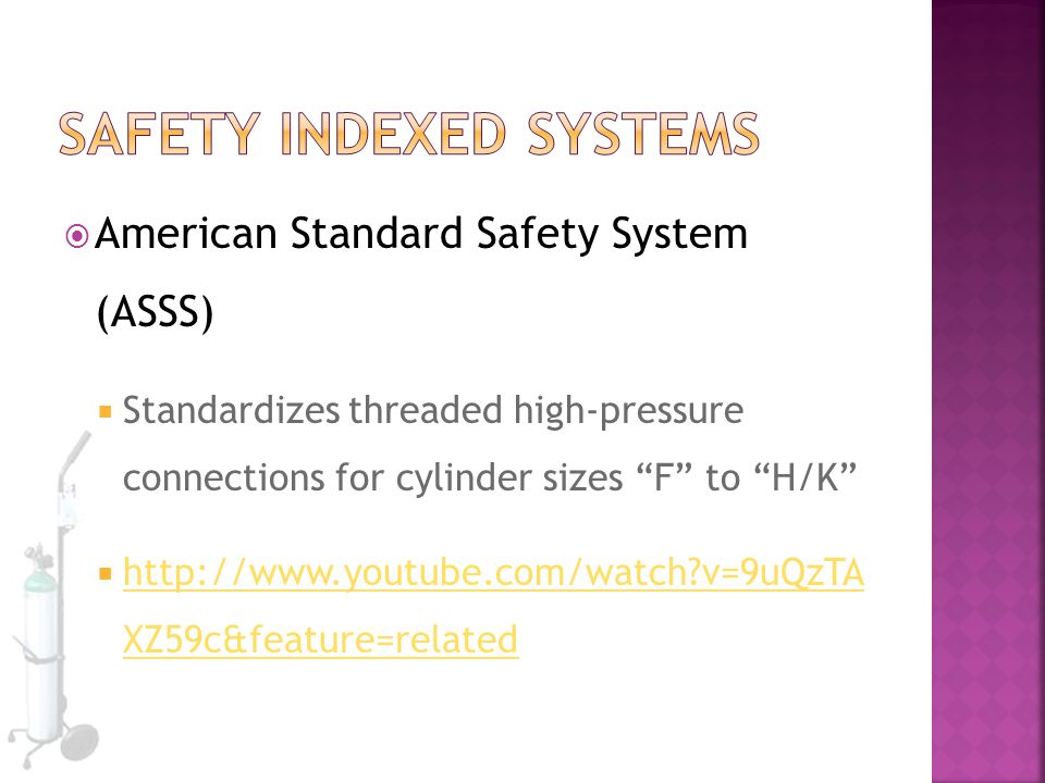 Safety Indexed Systems