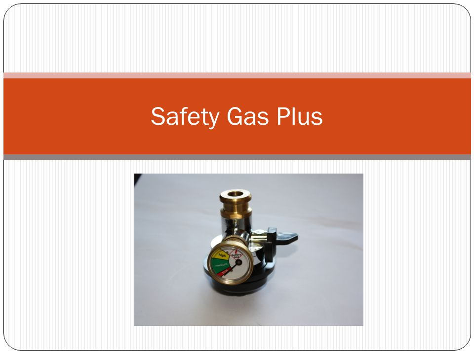 Safety Gas Plus