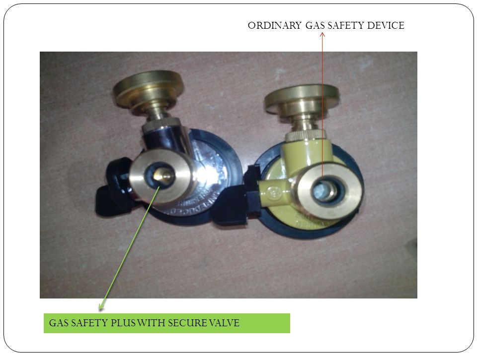 ORDINARY GAS SAFETY DEVICE
