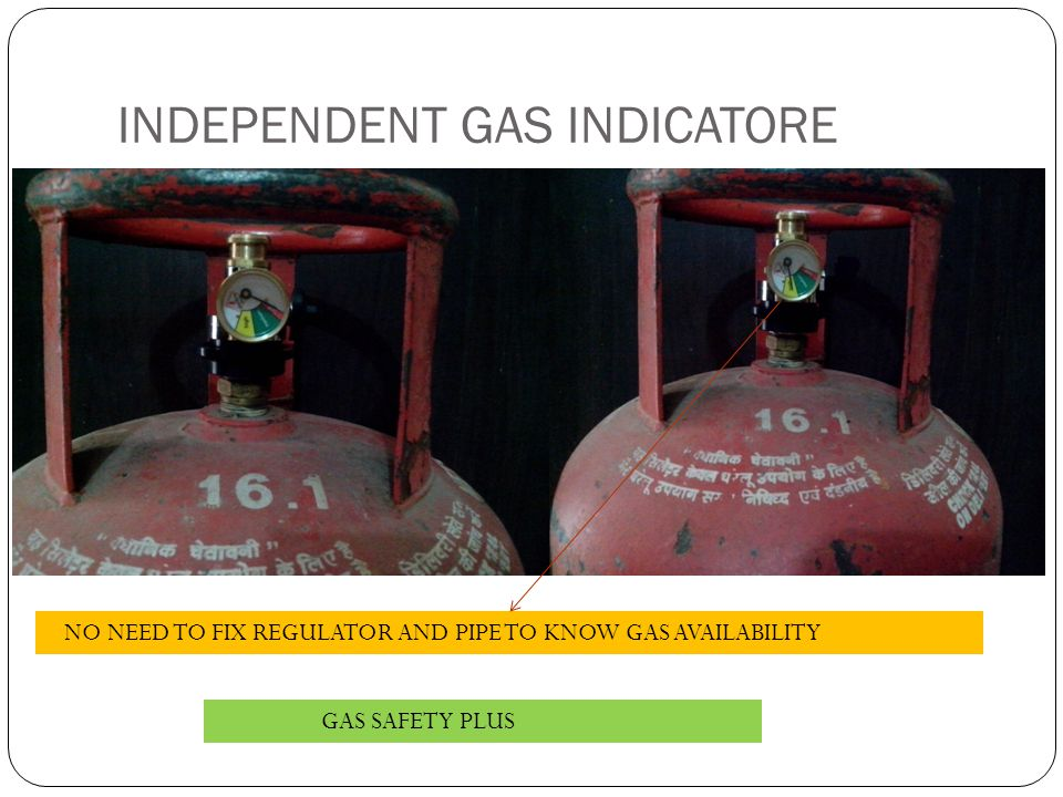 INDEPENDENT GAS INDICATORE