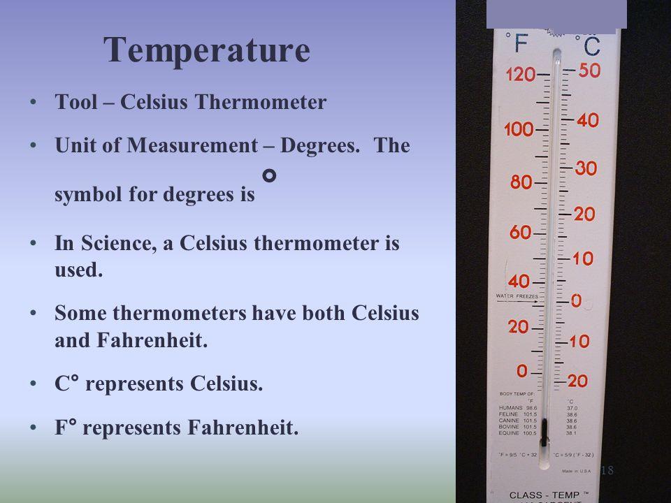 Temperature Tool – Celsius Thermometer