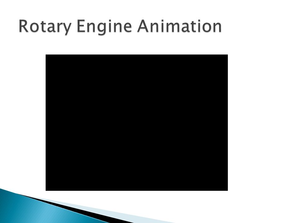 Rotary Engine Animation