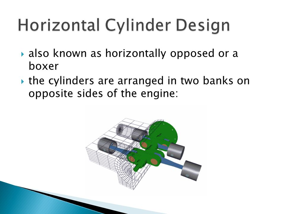 Horizontal Cylinder Design