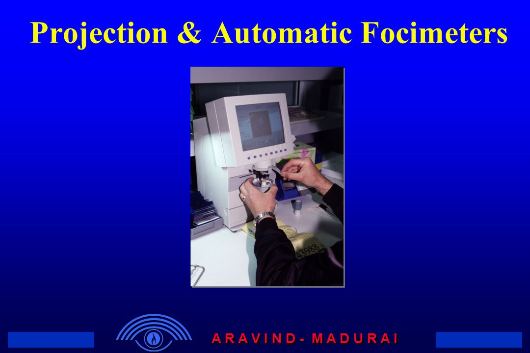 Projection & Automatic Focimeters
